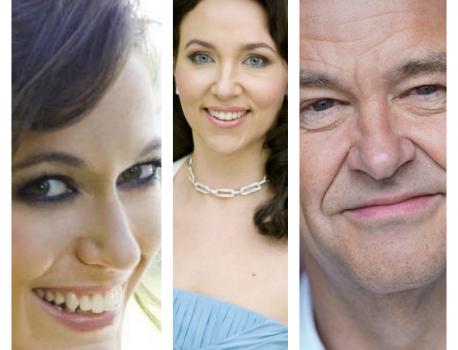 Kate Royal, Christine Rice, Julius Drake